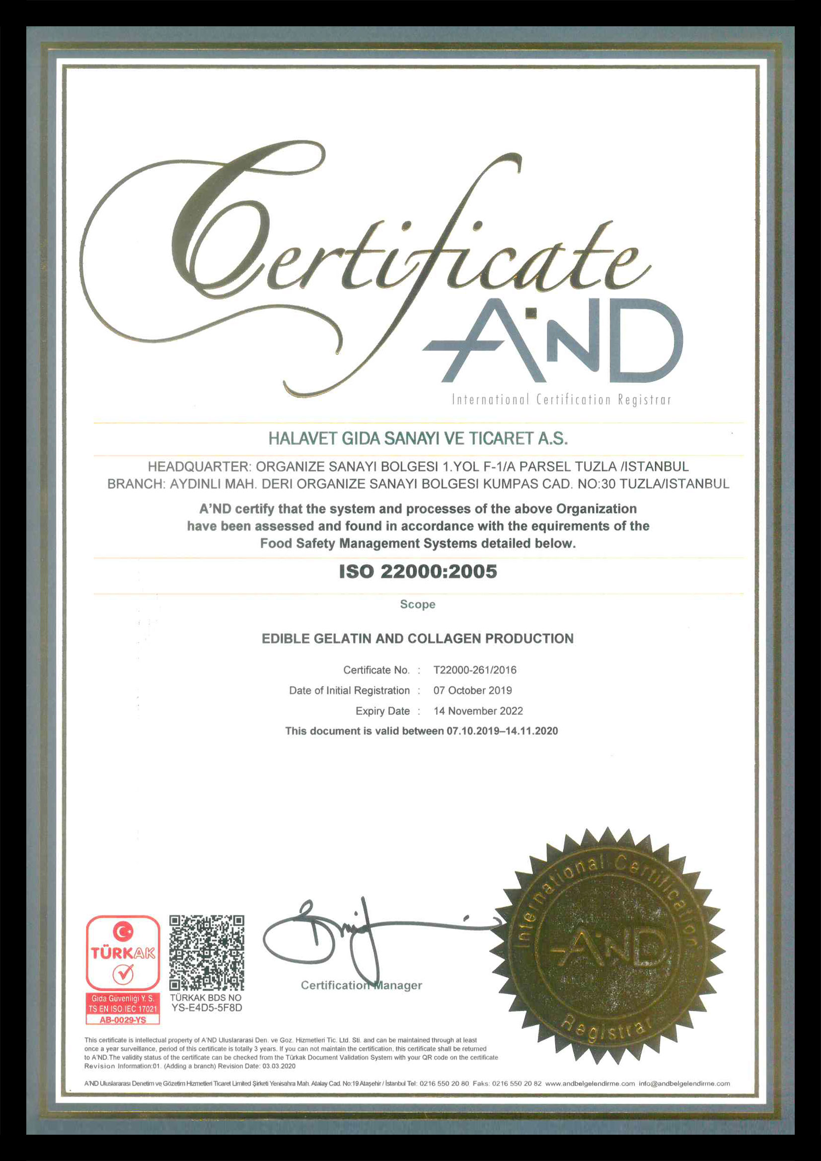 ISO 22000 English